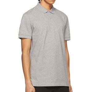 Hugo Boss Modern Fit Polo Shirt Grey Size XXL